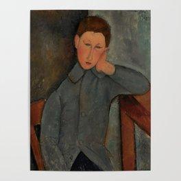"Amedeo Modigliani ""The Boy"" Poster"