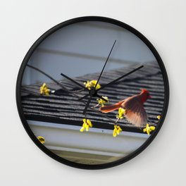 Just Spread Your Wings and Fly Wall Clock