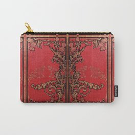 Red and Gold Thistles Carry-All Pouch