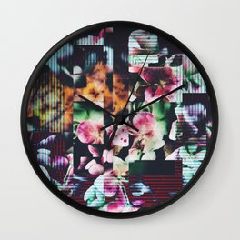 Fractions 16 Wall Clock