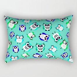 Happy Owl Rectangular Pillow