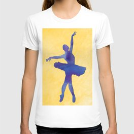 AP116 Watercolor dancer T-shirt
