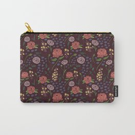 Vintage Peony Carry-All Pouch