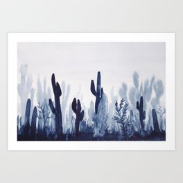 Memory Landscape 6 Art Print