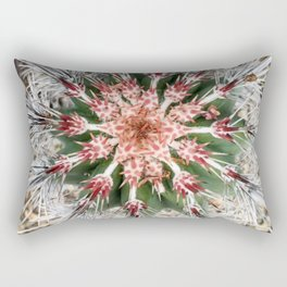 Overview of a Cactus Rectangular Pillow