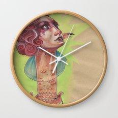 SUPER FLAMINGO Wall Clock