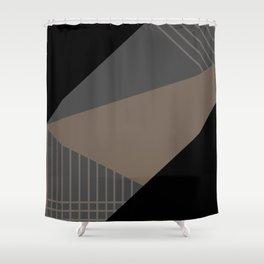 Geometric decor . triangles 2 Shower Curtain