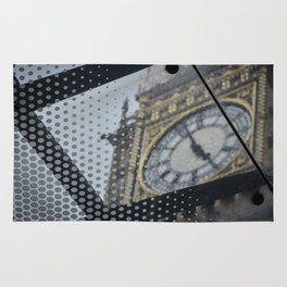 Different View of Ben Clock Tower Rug