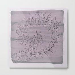 Fern sketch Metal Print