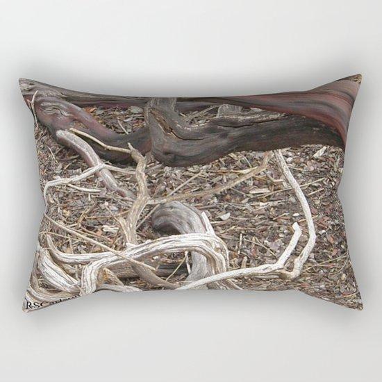 TEXTURES - Manzanita in Drought Conditions #3 Rectangular Pillow