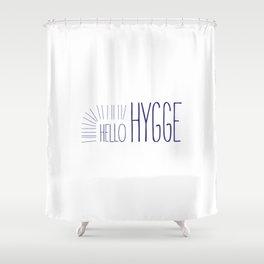 Hello Hygge Shower Curtain