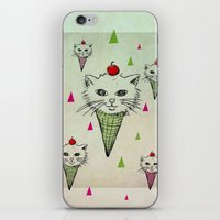 kittens iPhone & iPod Skins featuring kittens by blueart