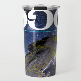 Galaxy Dog Travel Mug