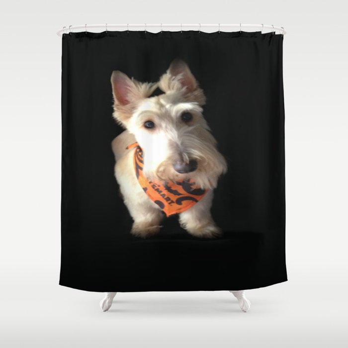 Wheaten King Of The House Shower Curtain