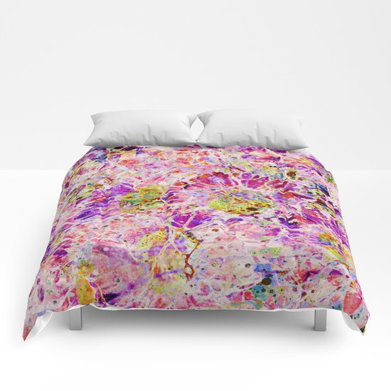 floral mosaic Comforters