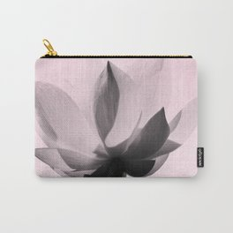 Lotus Flower | Pink Background Carry-All Pouch