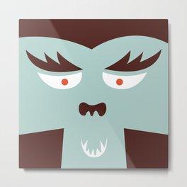 The Monster Club - Monster #7 Metal Print