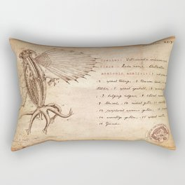 Miskatonic surgery - Elder Thing  (Vetusincola echinomorpho) Rectangular Pillow