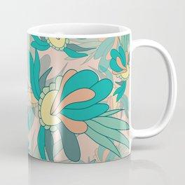 Abstract summer flower composition Coffee Mug