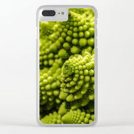 romanesco sprouts Clear iPhone Case