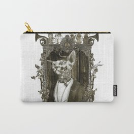 Steampunk Mr. Sphinx Carry-All Pouch