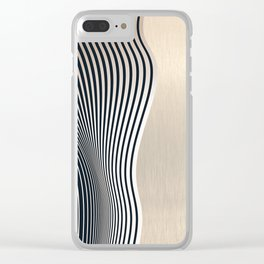 Abstract 19 Clear iPhone Case