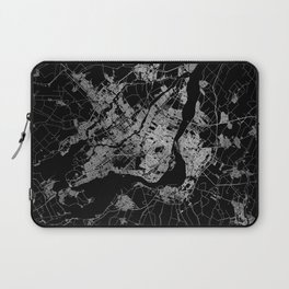 montreal map Laptop Sleeve