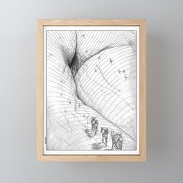 asc 660 - La route des origines (Bab alhaya) Framed Mini Art Print