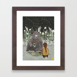 TEA BEAR Framed Art Print