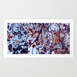 Tri Tree Art Print