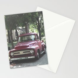 Red Truck Stationery Cards
