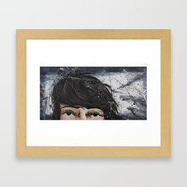 without your light Framed Art Print