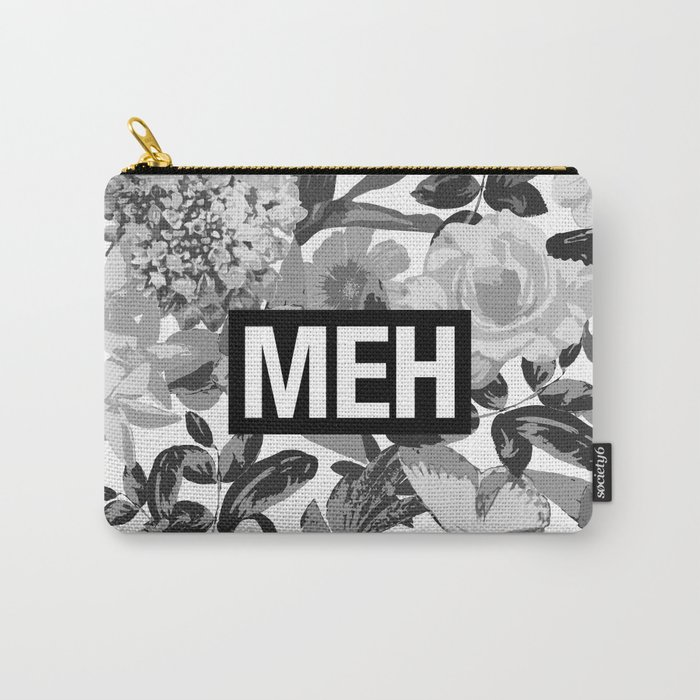 MEH B&W Carry-All Pouch