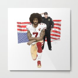 Kaep the ICON Metal Print