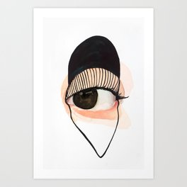 Look No3 Art Print
