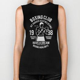 boxing club Biker Tank