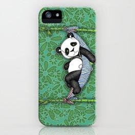 iPod Panda - The Lazy Days iPhone Case