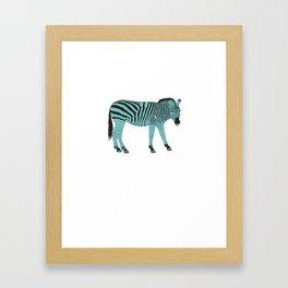 Zebrastyle Framed Art Print