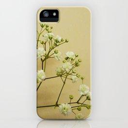Gypsophelia iPhone Case