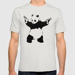 Panda, Banksy, Graffitti T-shirt