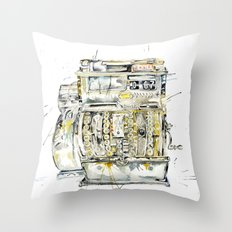 Cash In Throw Pillow