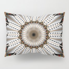 Feather Design Pillow Sham