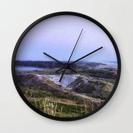 Evening Settling In Wall Clock