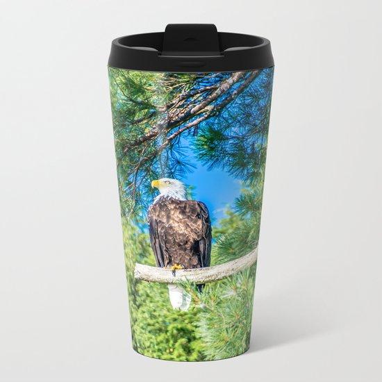 Bird of Prey Metal Travel Mug