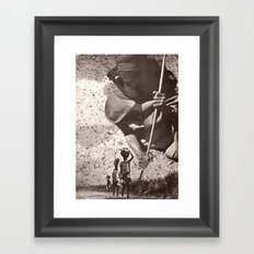 Air Djinn Framed Art Print