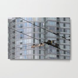 Power Off Metal Print