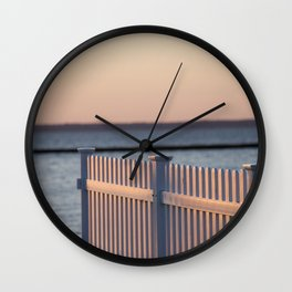 LBI Sunset Wall Clock