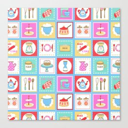 Kitchenalia Canvas Print