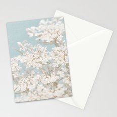 Pale Aqua: Dreaming of Spring Stationery Cards