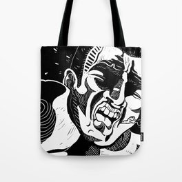 Glass Jaw Tote Bag